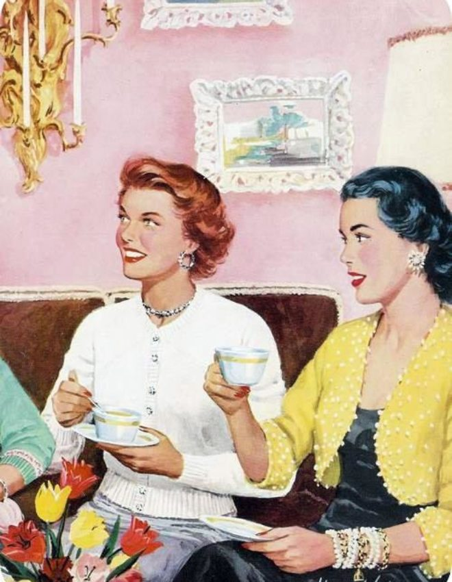 Vintage Series: 5 tips for a very vintage (Christmas) tea party!