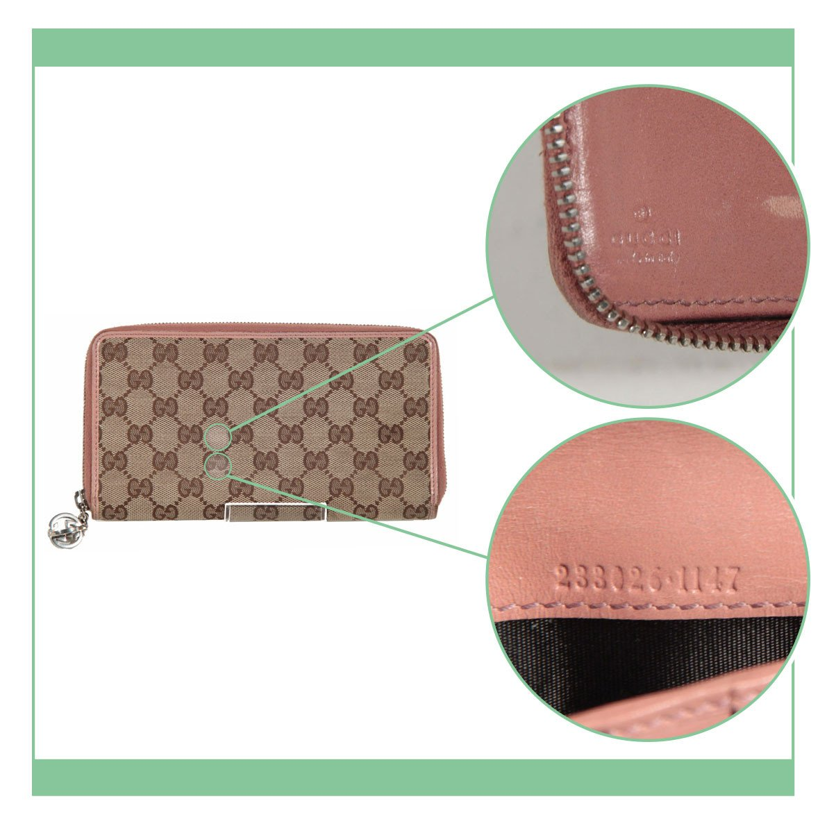 "2e1041a89ba Here s what you should expect when you purchase a Gucci bag from a  professional seller when you read ""NEW"" or ""MINT"""