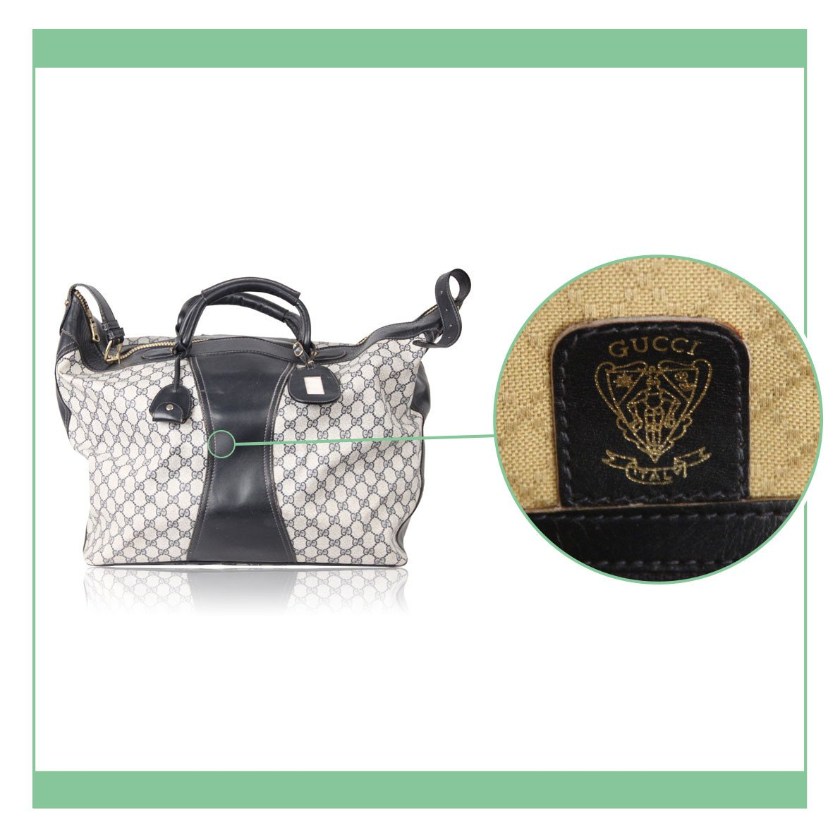 """32bfc300417 Here s what you should expect when you purchase a Gucci bag from a  professional seller when you read """"NEW"""" or """"MINT"""""""
