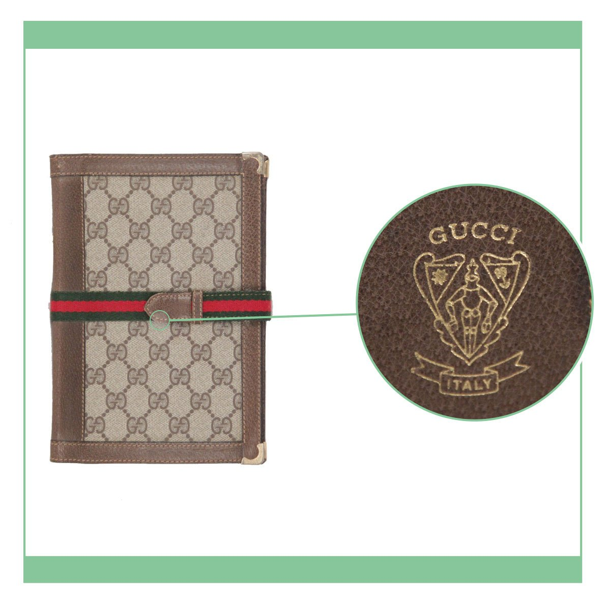 9f52f7b1d Gucci  a close look at they patented logos and serials - VintageMania