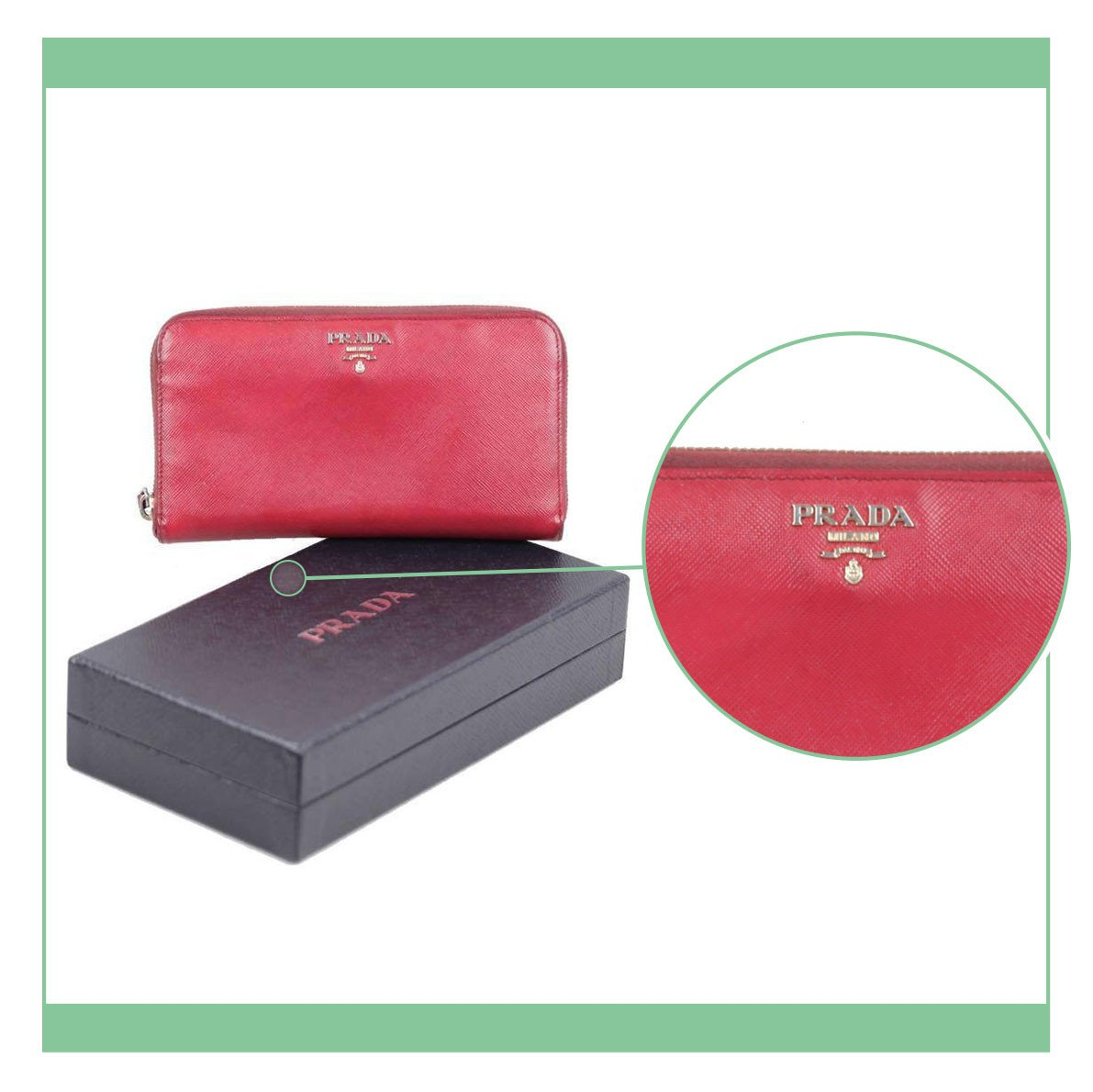 eba2299841cd6d Check carefully and compare logos and fonts with the images we provide, and  the ones you can see from our Prada selection. Some models will have the  logo ...