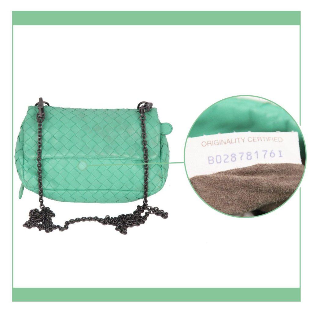 light green shoulder bag