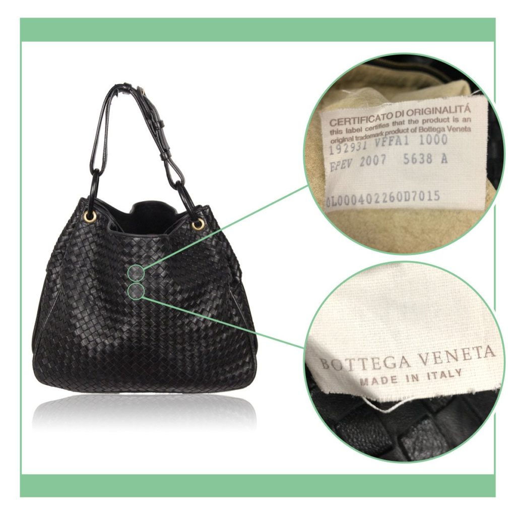 3f4ca637351e Bottega Veneta  looking for codes and serials - VintageMania