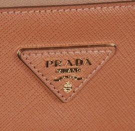Prada: logos, shapes and details
