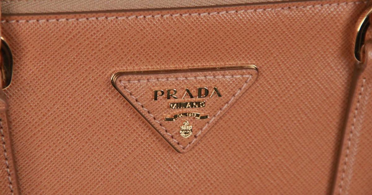 f00435b2cd1 Prada: logos, shapes and details , a close look - VintageMania