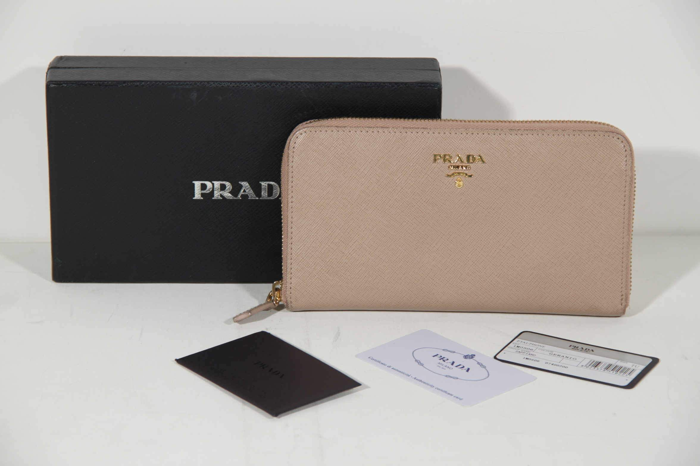 3c56631e26a It is possible that the Prada accessory you are about to purchase will not  come with these accessories. We come across many second hand accessories in  mint ...