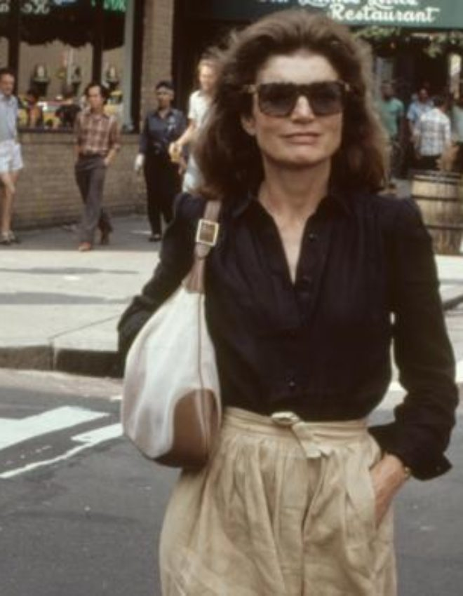 1970s: Jackie O, the iconic bag of Jacqueline Kennedy