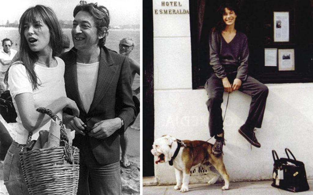 Vintage photos of Jane Birkin