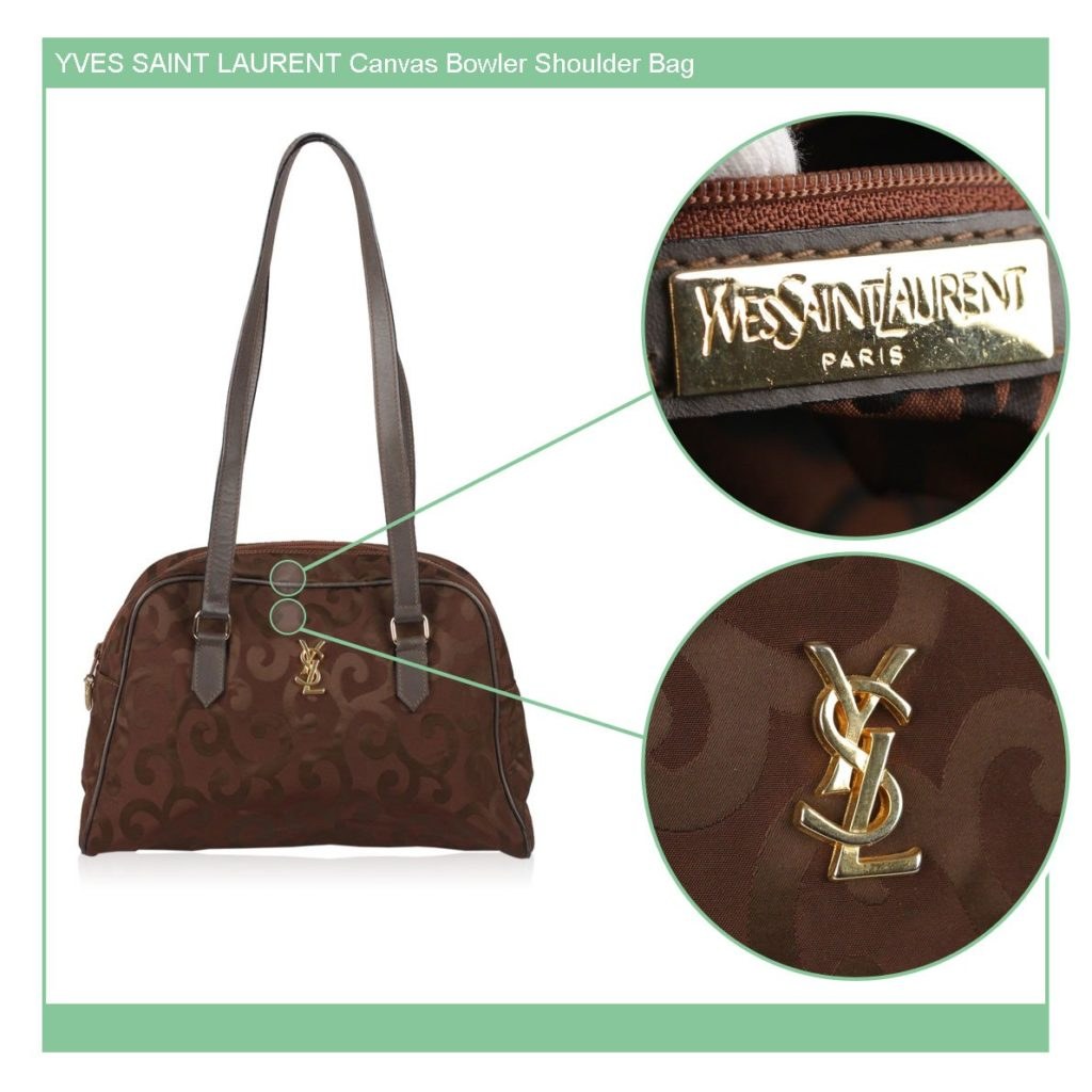 6425cdc28bf Yves Saint Laurent authentication: what to look for, on vintage bags -