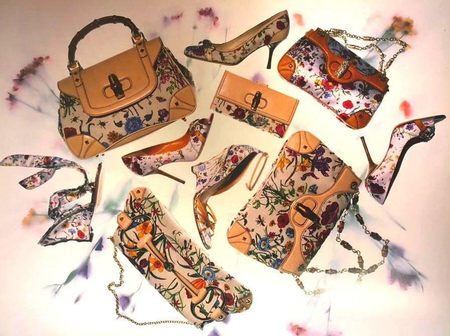 Gucci Flora Pattern