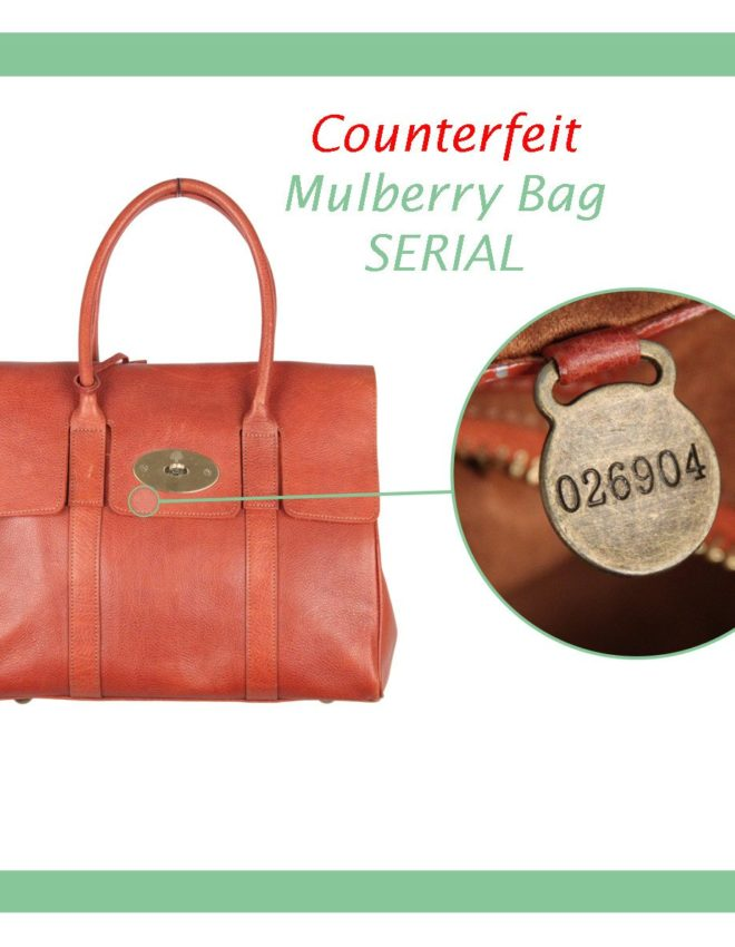 Mulberry Bags: watch out for serials
