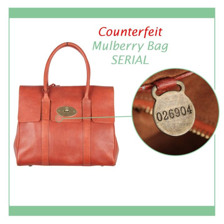 Mulberry counterfeits