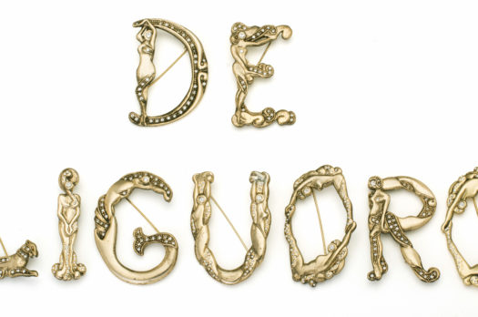 Masterpieces of costume jewelry by De Liguoro