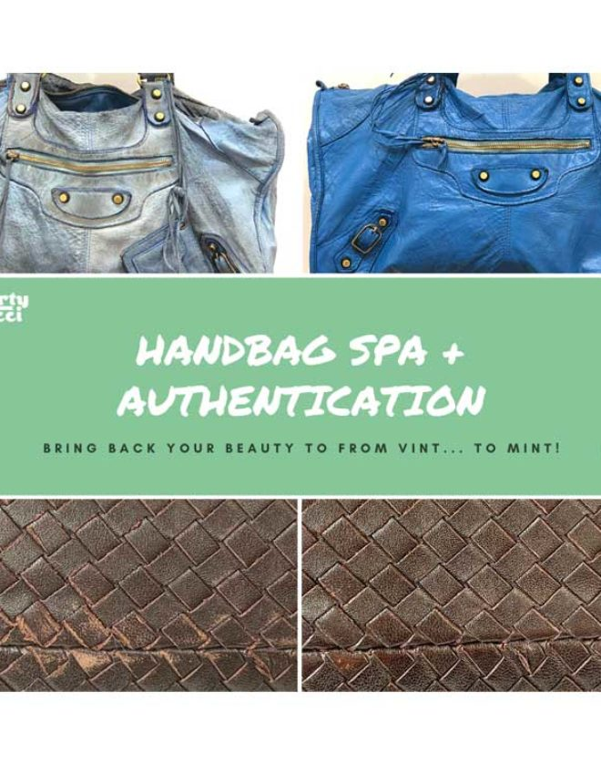 Preserving your luxury bags: SPA + Authentication