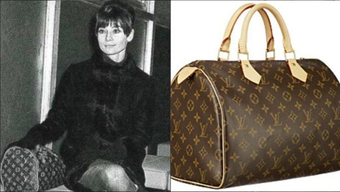 Audrey Hepburn, Speedy bags, Louis Vuitton